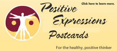 Positive Expressions Postcards